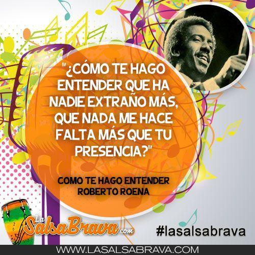 Como Te Hago Entender Roberto Roena Música Latina Descargar Música Musica