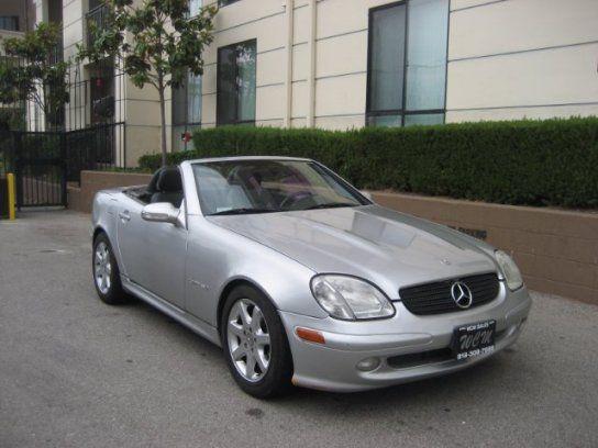Convertible 2001 Mercedes Benz Slk 230 With 2 Door In North Hollywood Ca 91601 Mercedes Benz Slk Mercedes Convertible Mercedes Benz