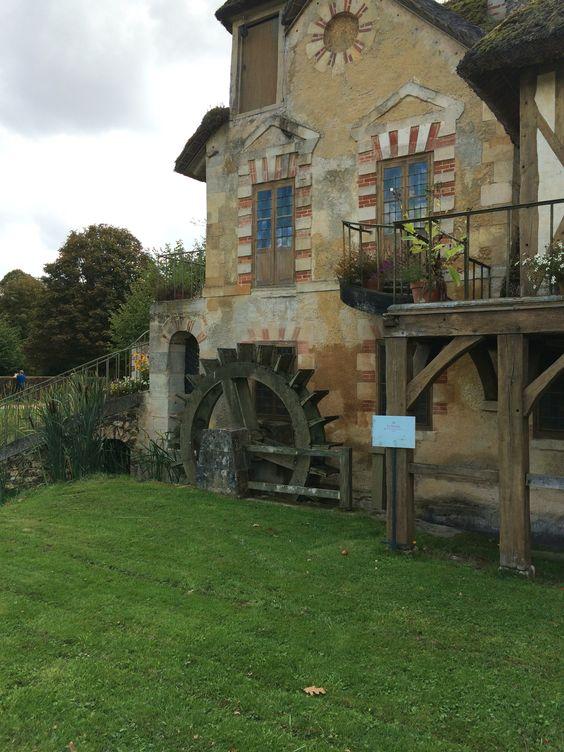 Water mill queens hamlet Versailles