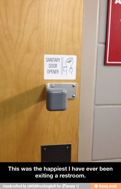 Restroom problem fixed / iFunny :)