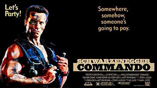 Arnold Schwarzenegger in Commando (1985)   Commando ...