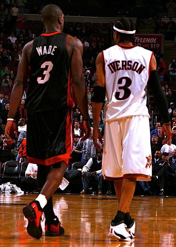 Epic Duels 2005: Iverson (38pts/16asts) vs Dwyane Wade (48pts/10rebs) in OT Thriller   Ballislife.com