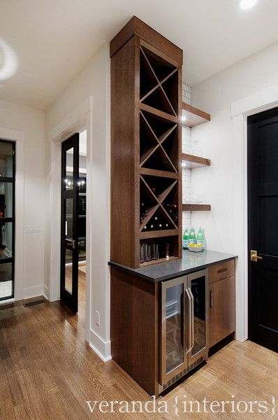 veranda interiors great wet bar butlers pantry area stainless steel mini bar chocolate brown. Black Bedroom Furniture Sets. Home Design Ideas