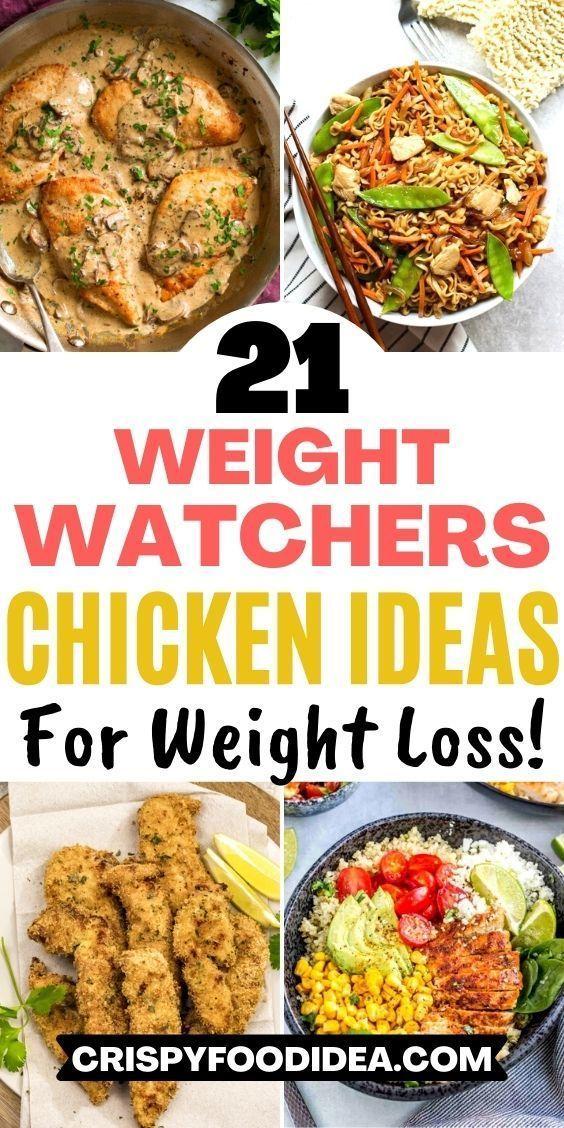 weight watchers chicken recipes
