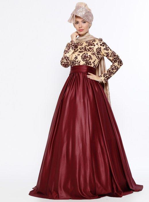 اروع فساتين سهرة سوارية للمحجبات 2018 2019 Echo Moda Dresses Victorian Dress Fashion
