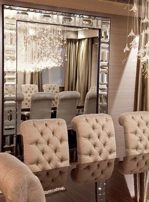 Dining Room Decor, Decorative Wall Mirror For Dining Room