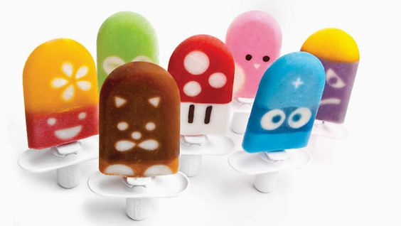 A Kit For Making Popsicles That Look Like Cartoon Characters