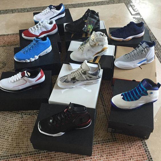 Andre Johnson Already Has A Lot Of Air Jordans That We're Still Waiting On