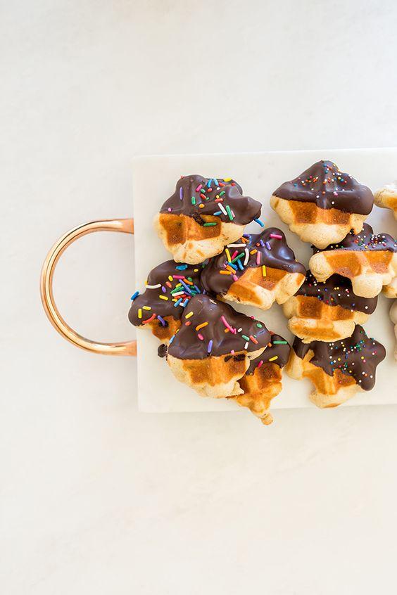 waffle cookies.: