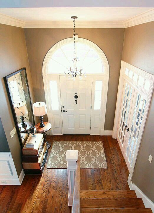 Large Foyer Paint Colors : Side door the mirror and entryway on pinterest