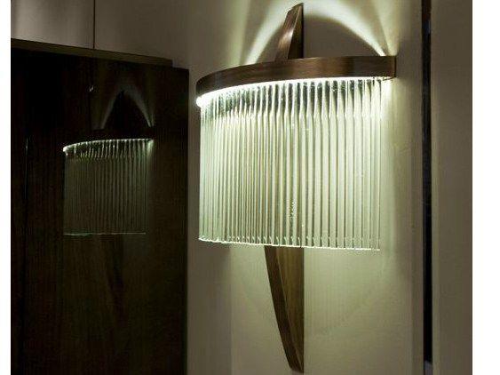 HAUSSMANN Wall light Haussmann Collection by HUGUES CHEVALIER