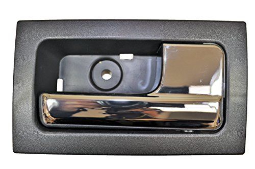 Pt Auto Warehouse Fo 2507ma Fr Inner Interior Inside Door Handle Black Housing With Chrome Lever Passenger Side Front Door Handles Inside Doors Chrome