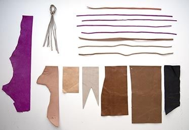 Leather Basics by Elke Bergeron. http://api.creativebug.com/workshops/leather-basics.   Creativebug - Craft classes to delight your creative side.