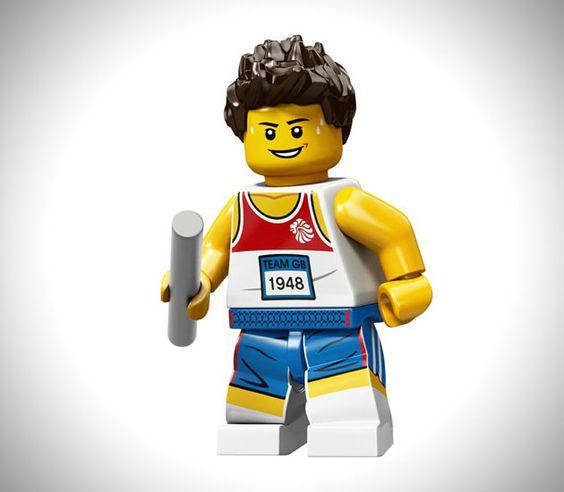 Limited Edition 2012 LEGO Olympic Athletes