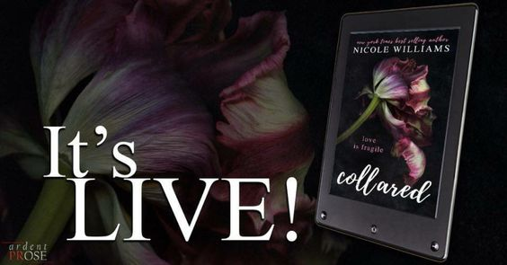 Collared by Nicole Williams Release Date: March 22, 2016 #NewRelease #Excerpt #Review