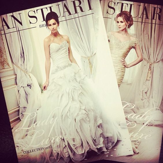#ladyluxe collection #2015 #bridetobe #bride #weddingdress #wedding #ianstuartbride #londonbridecouture
