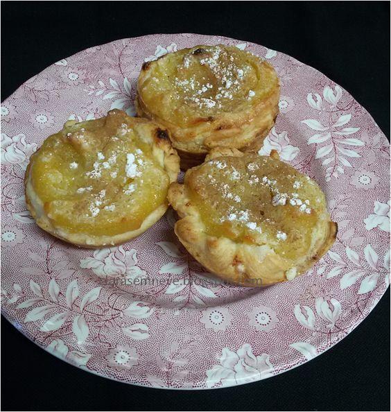 Claras em Neve: Pastéis doces de batata