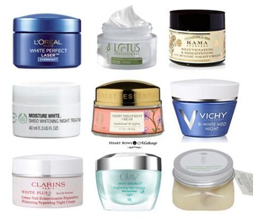 Best Night Creams For Fair Glowing Skin In India Our Top 10 Facecream Best Night Cream Best Skin Cream Cream For Dry Skin