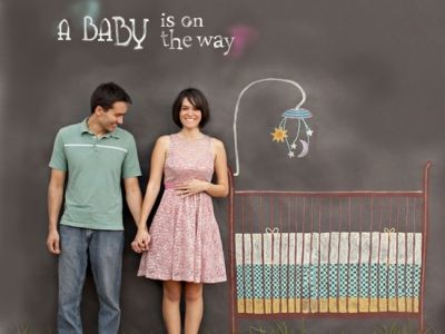 So cute that this is becoming a thing -- 9 Creative Pregnancy Announcement Photos to Make People Go Aww...
