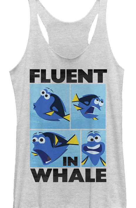 Junior Finding Dory Tank Top Coming this summer, Finding Dory!  Be the most popular parent on the block when you take the kids to see Disney's new film!