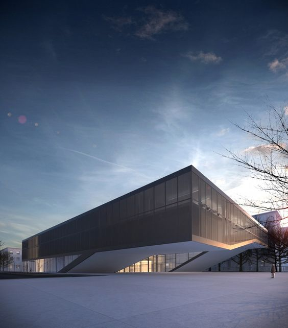 Quarter Cultural Center by Mikolai Adamus, in Gdansk, Poland