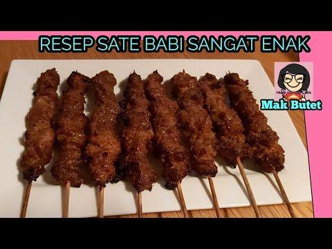 Resep Sate Babi Cocok Untuk Dagang Youtube Resep Babi Resep Masakan Indonesia Makanan Dan Minuman