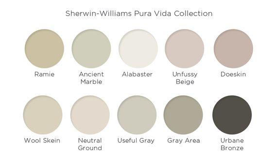 Pura vida colors and wool on pinterest for Paleta de colores para interiores