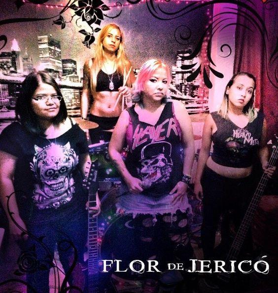 Cresta Metálica Producciones » Flor de Jerico presenta su nueva formación