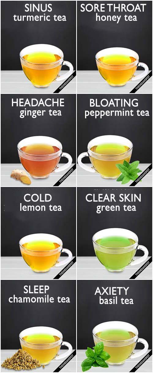 8 Best Healing Tea Recipes For Sinus Sore Throat Headache And More The Indian Spot Healing Tea Recipes Healing Tea Sweet Tea Recipes