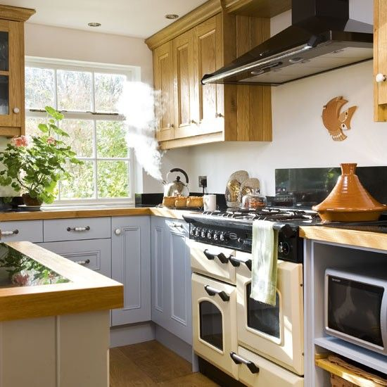 kitchen designs with range cookers.  Range cooker Pastel blue and Kitchens