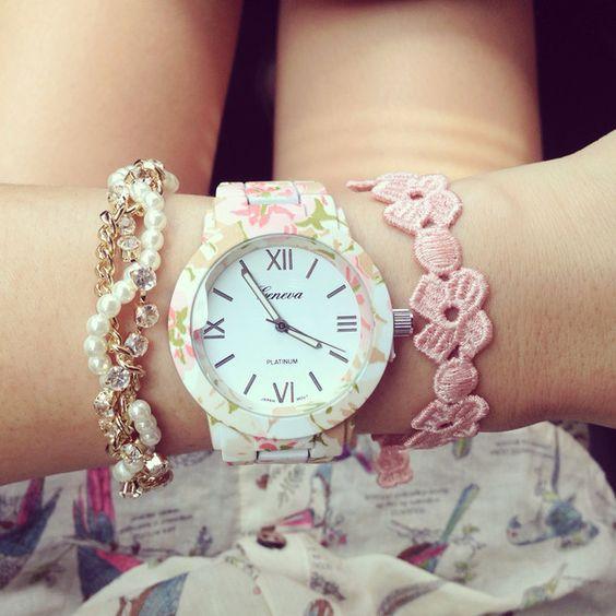 Garden Beauty Bracelet Watch: