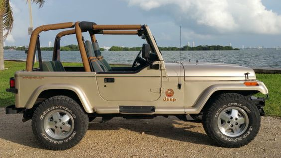 Images Of Gen 1 Jeep Wrangler Sahara In Tan Jeep Wrangler Yj Sahara Edition Jeep Wrangler Jeep Wrangler Yj Jeep Wrangler Sahara
