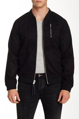 Sueded Bomber