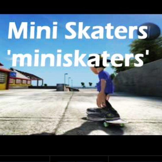-Skate 3 Type miniskaters in skate 3 on cheat code