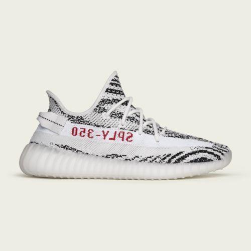 Sneakers fashion, Adidas yeezy 350 v2 zebra