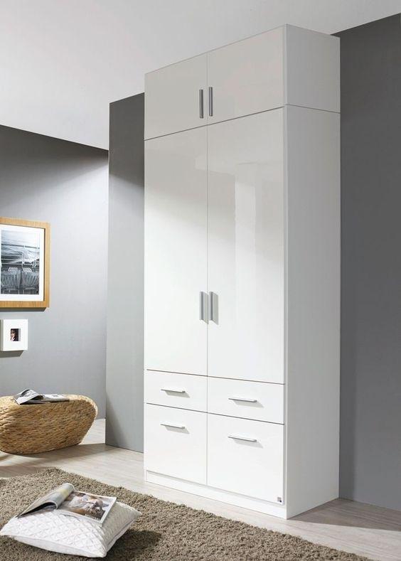 Superb Kleiderschrank Celle cm Alpinwei Wei Buy now at https