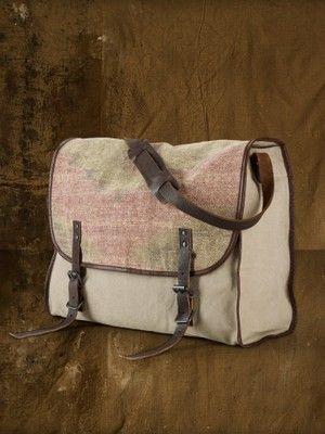 Ralph Lauren Denim & Supply Men's Serape Messenger Bag - Retail $165 -   eBay