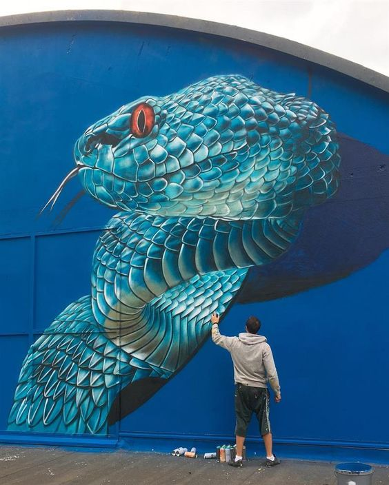 Worth Watching Realistic 3D Street Art by Scaf | Designbolts