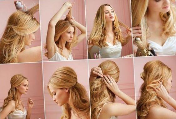 Ballfrisuren lange haare - http://elegante-frisuren.info/585.html #Frisurentrends Frisurentrends2017 #Frisuren #Trendige