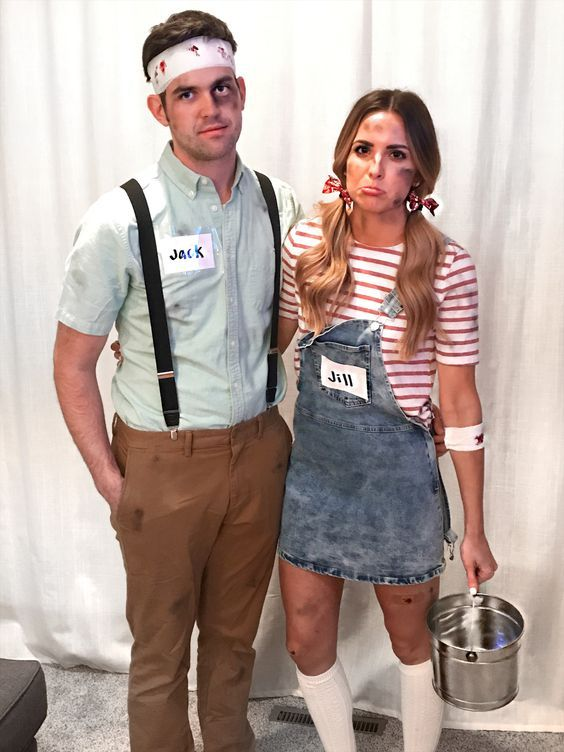 Simple, tasteful, and fun Halloween costumes for couples