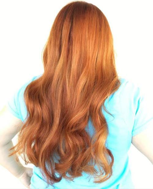 20 Burnt Orange Hair Color Ideas To Try Burnt Orange Hair Color
