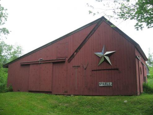 Horse barn in Bristol, Maine