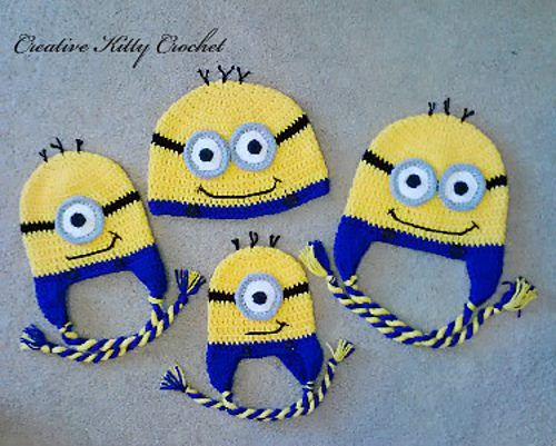 Free Crochet Pattern For Girl Minion Hat : Pinterest The world s catalog of ideas