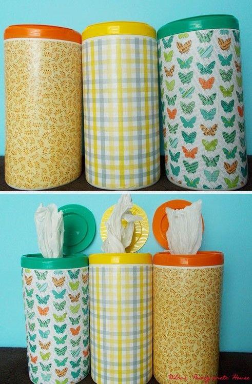 Organize as sacolinhas de mercado em embalagem reciclada | Cacareco