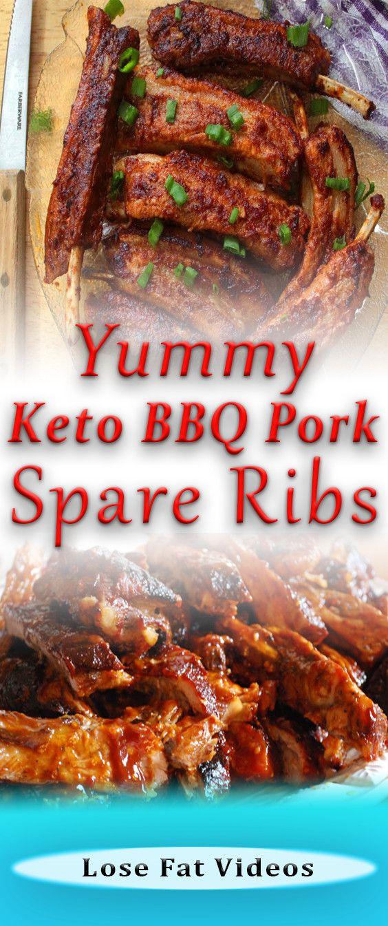 Yummy Keto Bbq Pork Spare Ribs Pork Spare Ribs Recipe Bbq Pork Bbq Pork Spare Ribs
