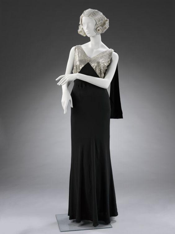 Dress, Jeanne Lanvin, 1933, V & A Museum