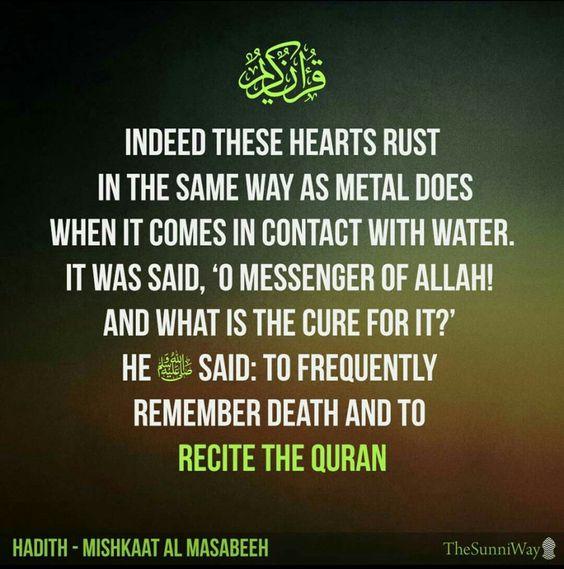 Recite The Qur'an