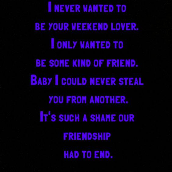 Prince - Purple Rain lyrics