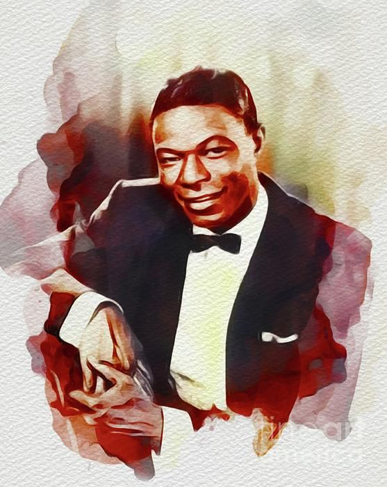 Nat King Cole Music Legend By Esoterica Art Agency Music Legends Nat King Cole Art