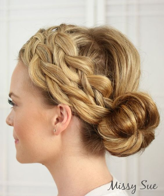 Melissa Cook of Missy Sue Blog - braid-3-double-dutch-braids-and-bun
